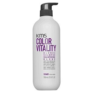 KMS Color Vitality Blonde Shampoo šampon pro neutralizaci žlutých tónů 750 ml