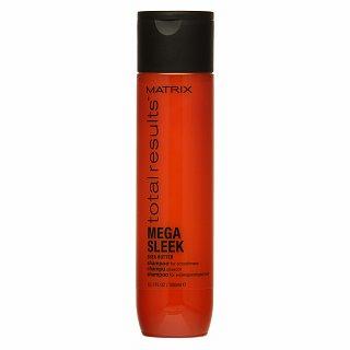 Matrix Total Results Mega Sleek Shampoo šampon pro nepoddajné vlasy 300 ml