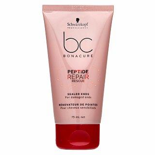 Levně Schwarzkopf Professional BC Bonacure Peptide Repair Rescue Sealed Ends fluid na roztřepené konečky vlasů 75 ml