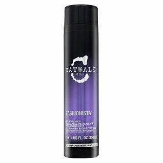 Tigi Catwalk Fashionista Violet Shampoo vyživující šampon pro blond vlasy 300 ml